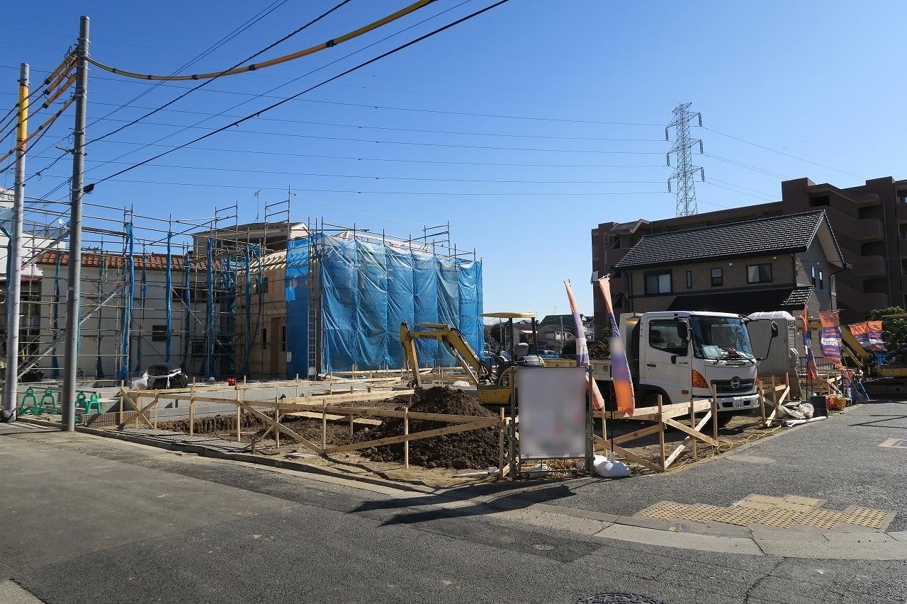 【外観写真】 江戸川区南小岩1丁目新築戸建 11期全8棟