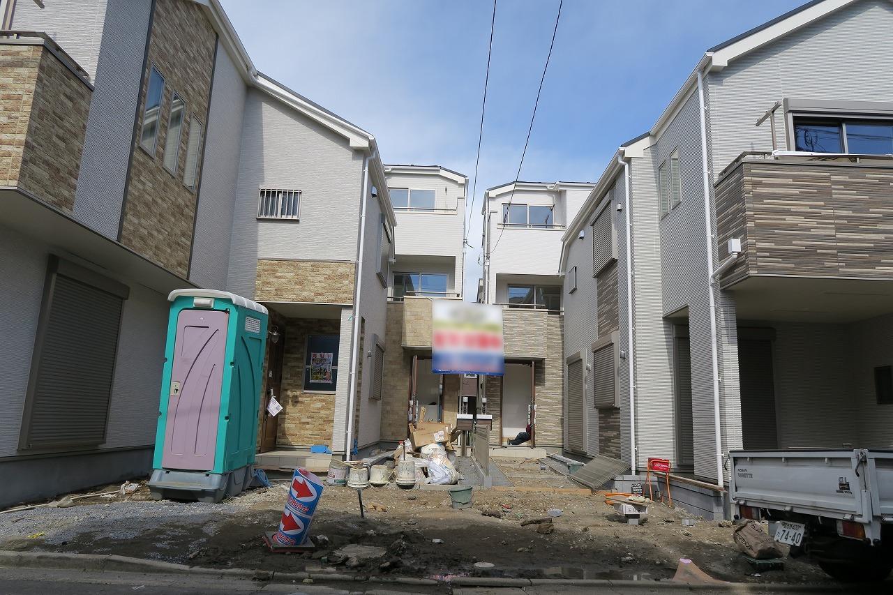 【外観写真】 江戸川区東小岩2丁目 B号棟 全4棟 新築戸建 の物件です。