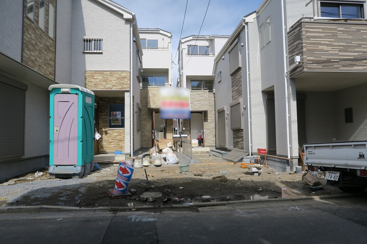 江戸川区東小岩2丁目 C号棟 全4棟 新築戸建 の物件です。