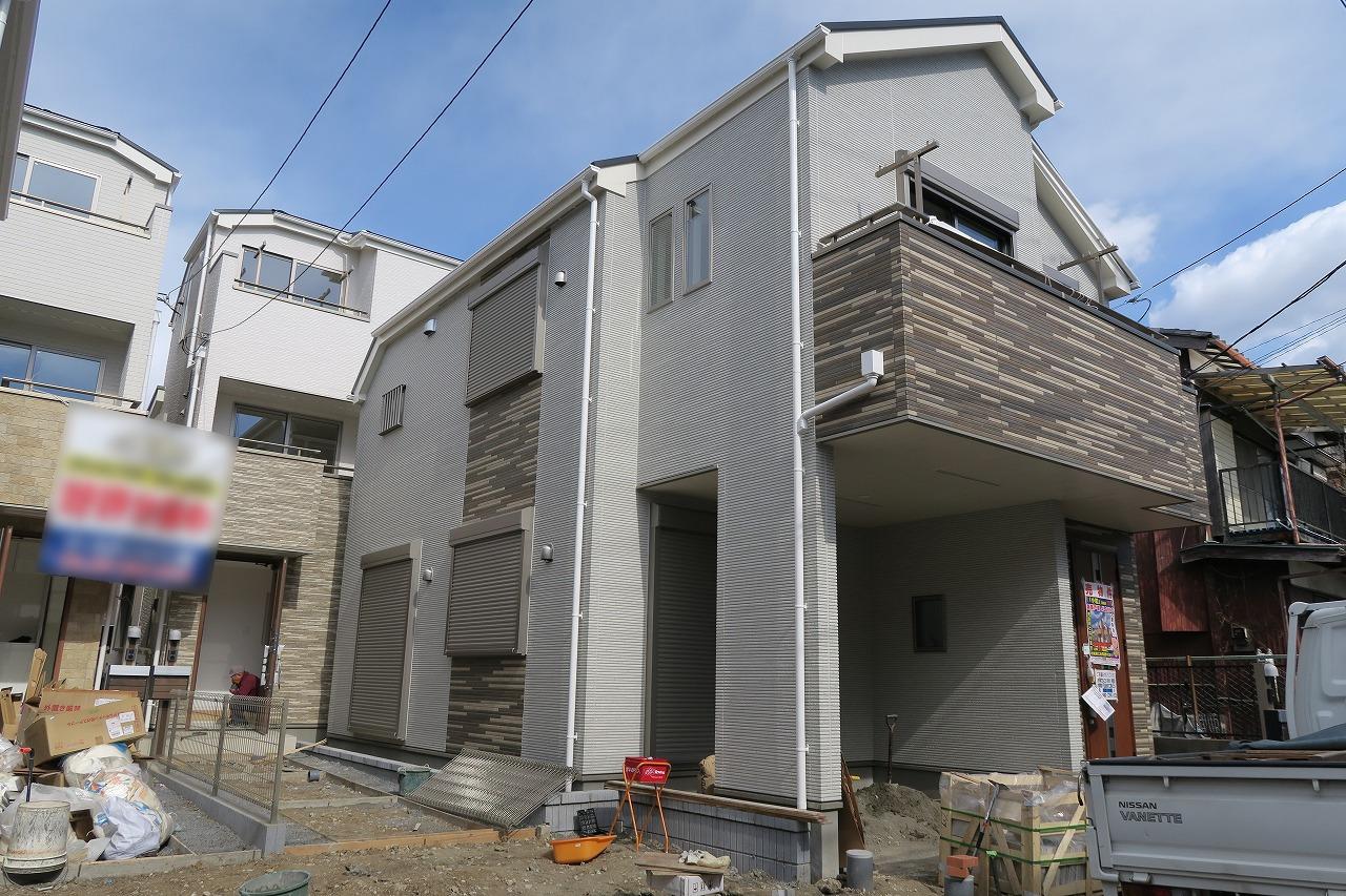 【外観写真】 江戸川区東小岩2丁目 D号棟 全4棟 新築戸建 の物件です。