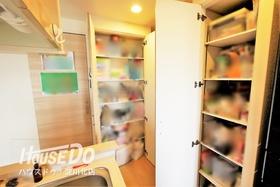 ■ キッチンには収納が多数! ■ 洗剤などのキッチン用品のストックや食材などの収納にピッタリ◎ キッチン横から洗面室やバルコニーに出入り出来る家事動線がスムーズな間取りが魅力的!