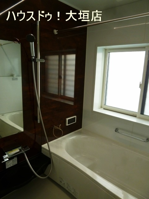 浴室乾燥機完備で天候に左右されず、お洗濯ができます。