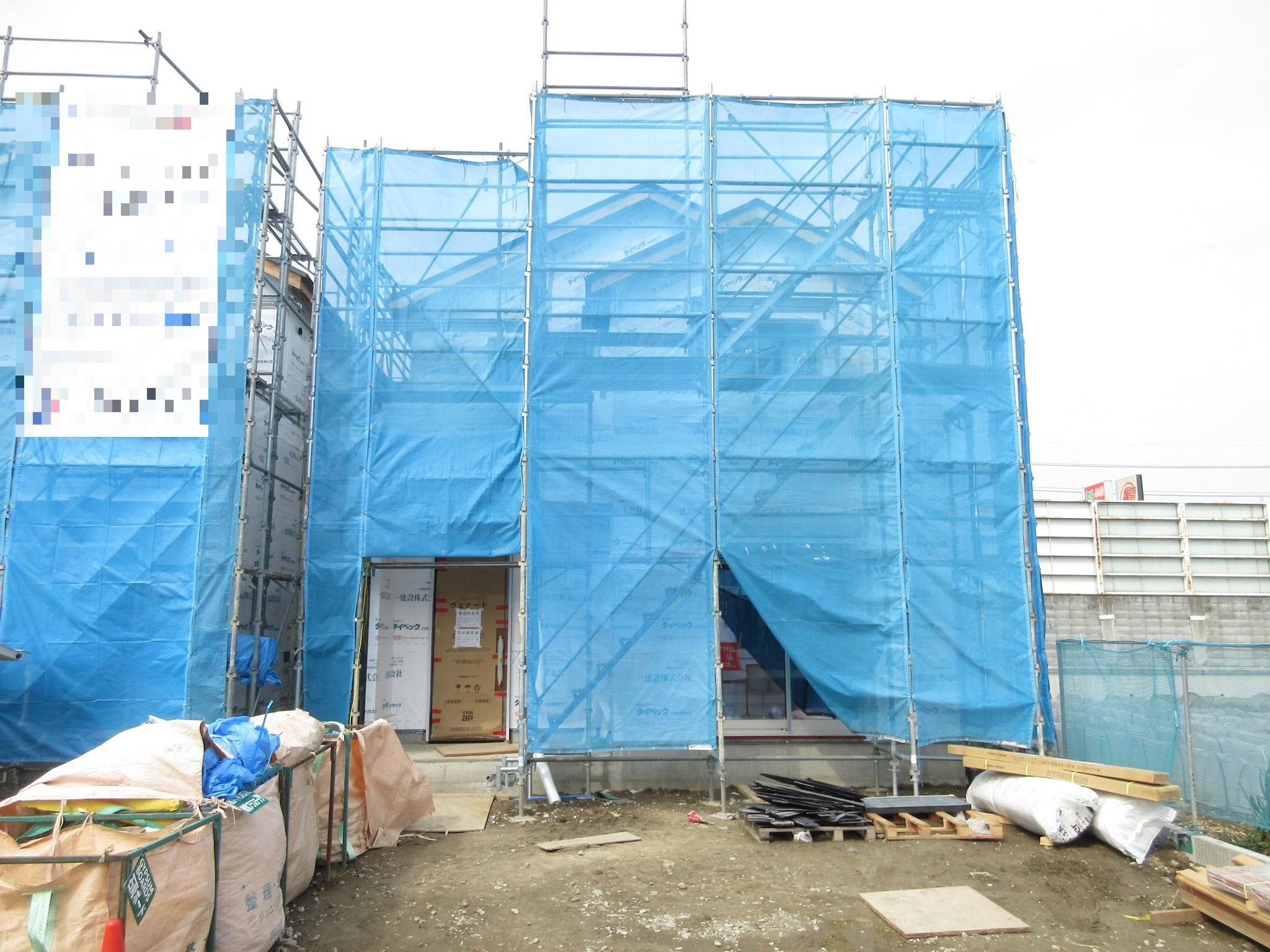 【外観写真】 基礎工事が終わりました、まもなくお家の形が見えてきます!