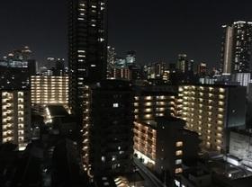 お部屋からの夜景です  12階の最上階部分で  眺望良好です
