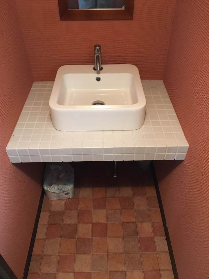 オシャレな洗面スペース♪