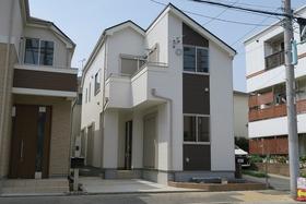 【外観写真】 江戸川区上一色1丁目 1号棟 全3棟 新築戸建の物件です。