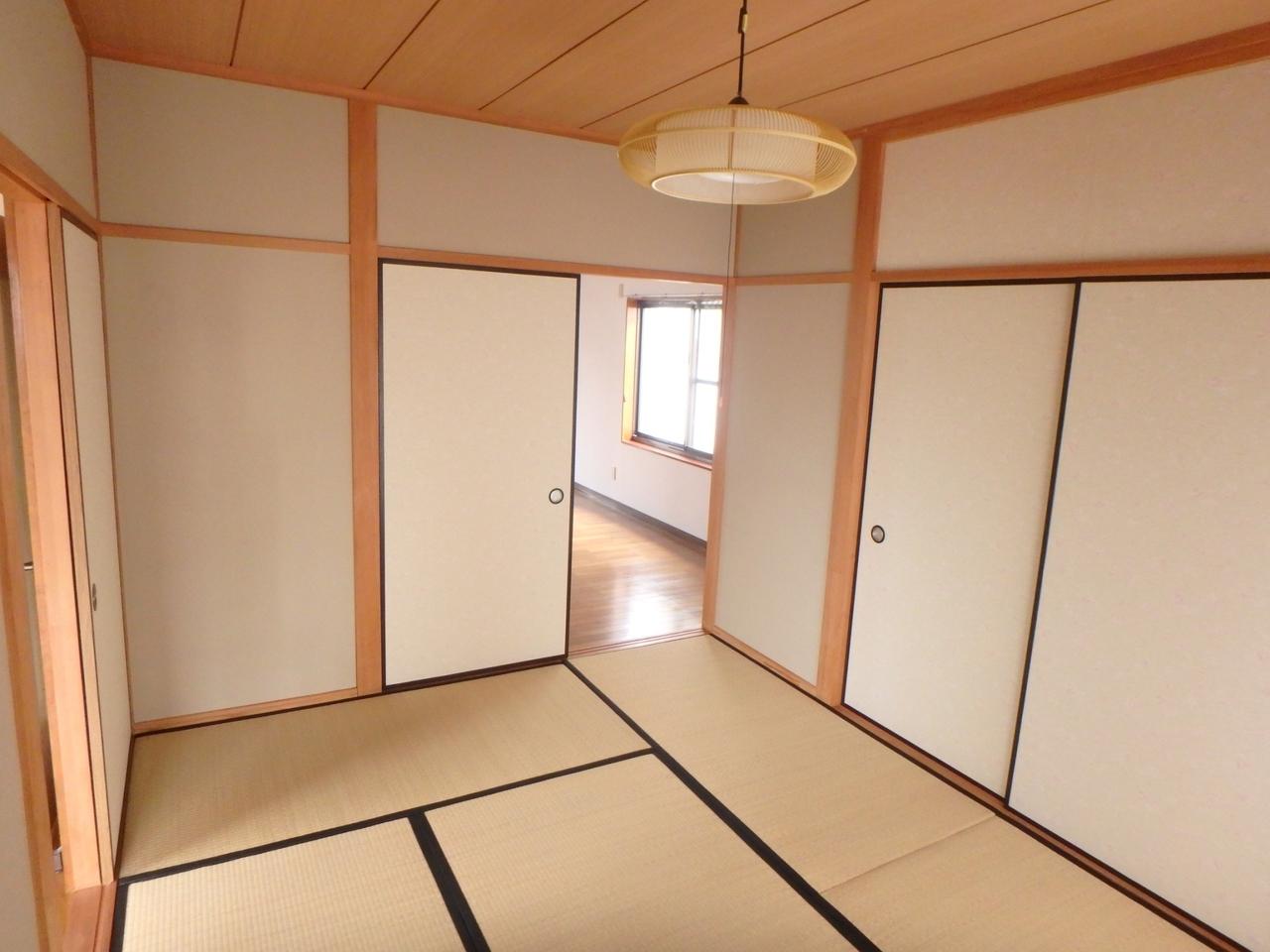 一部屋あるとべんりな和室です。