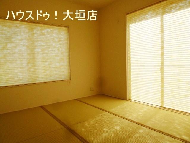 玄関からも出入り可能な独立型和室。 急な来客時にも対応できます。