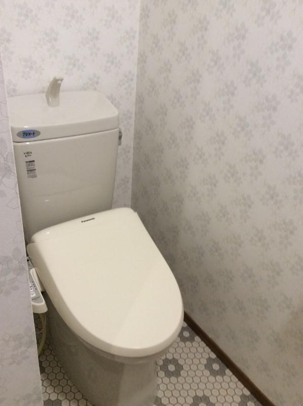 ウォシュレット付トイレ(2018年2月撮影)