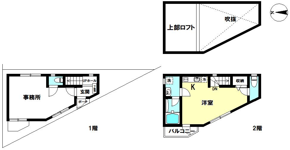 【間取り】 江戸川区興宮町 新築戸建