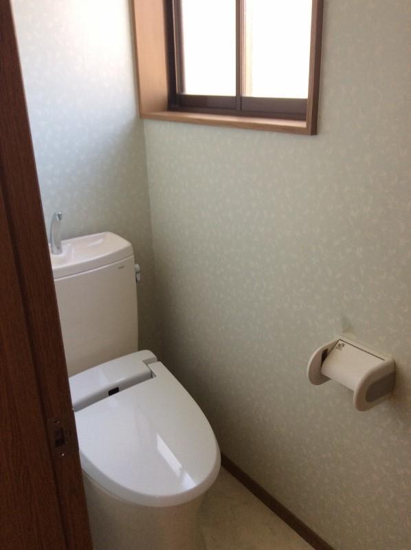 ウォシュレット付トイレ(2018年3月撮影)