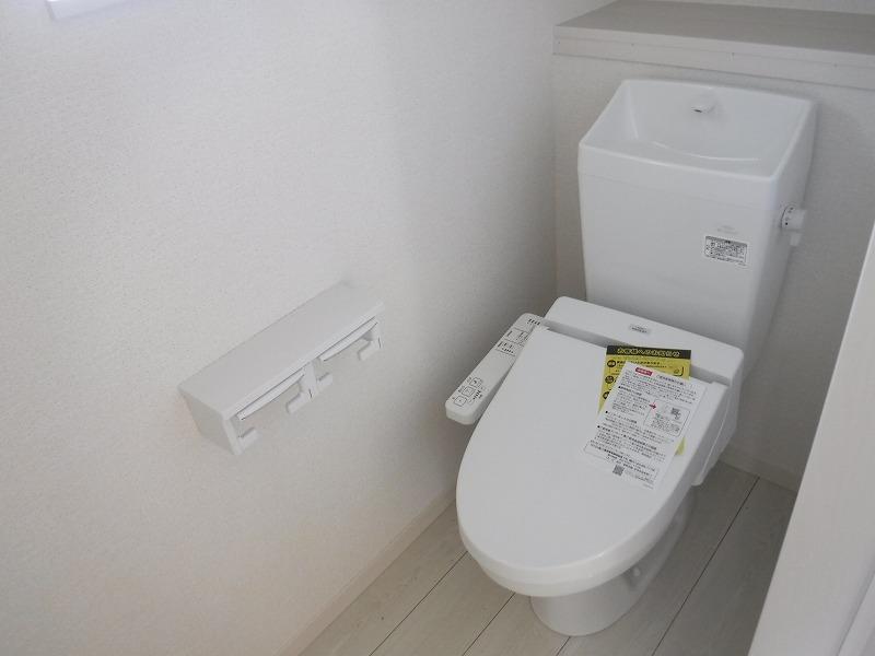 快適な温水洗浄便座付! 施工事例。実際のものと異なります。