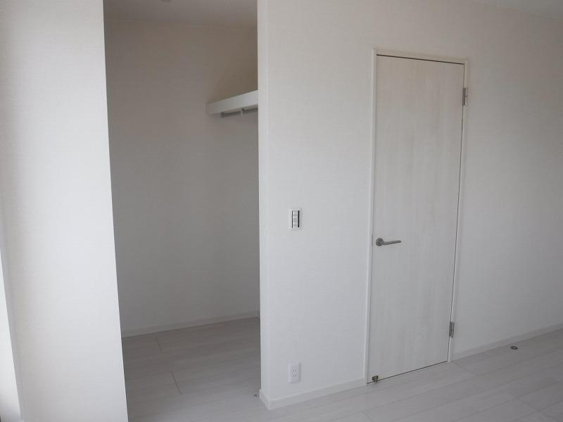 WIC付☆お部屋もすっきり片付けられます(^^)施工事例。実際のものと異なります。