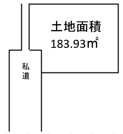 【区画図】 ◆北九州市小倉南区蜷田若園売土地♪55.63坪・平坦地です♪若園小学校まで徒歩約7分で通学便利♪