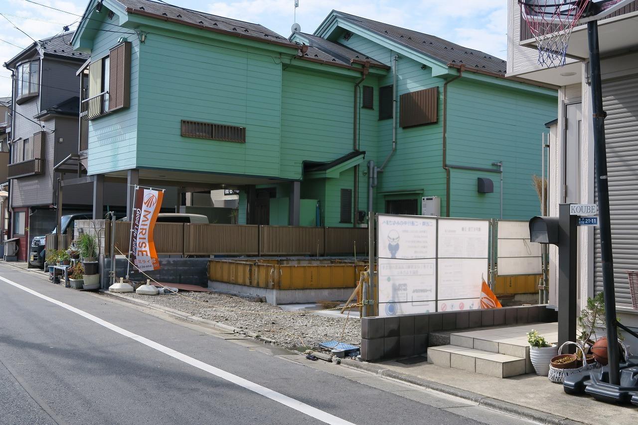 奥戸6丁目の新築戸建て1号棟