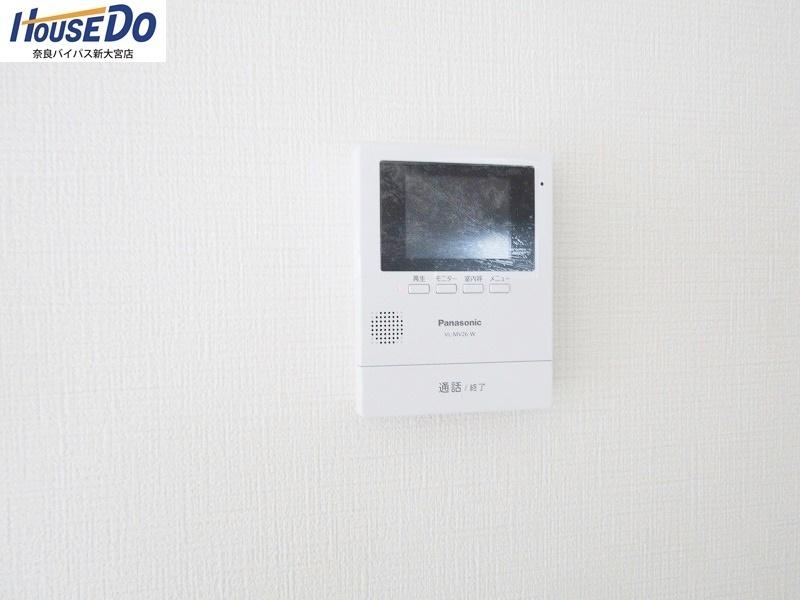 同社施工例 TVモニター付きインターホン