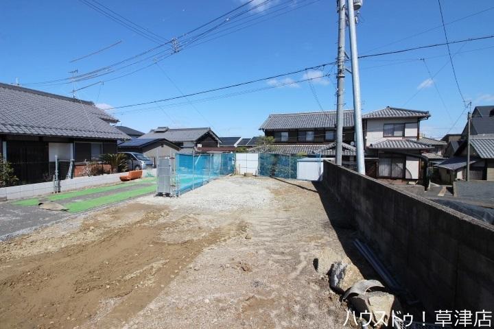【外観写真】 JR瀬田駅まで徒歩6分・現況更地・アルプラザ瀬田店まで徒歩7分(約520m)