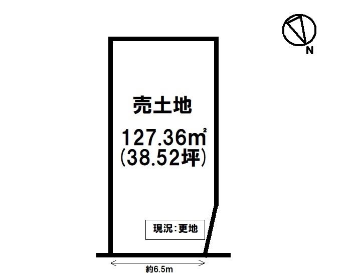 【区画図】 JR瀬田駅まで徒歩6分・現況更地・アルプラザ瀬田店まで徒歩7分(約520m)