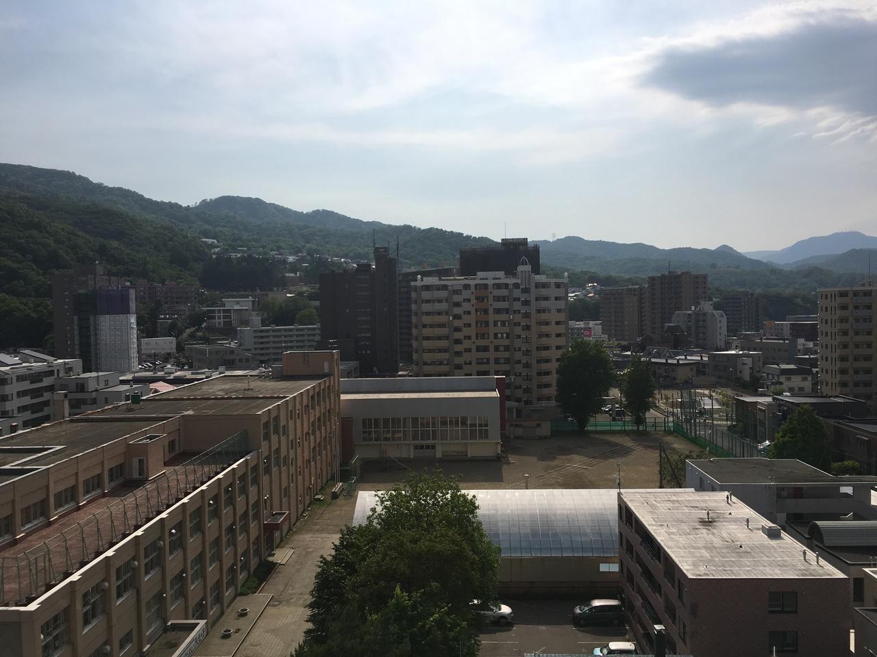 お部屋からの眺望写真