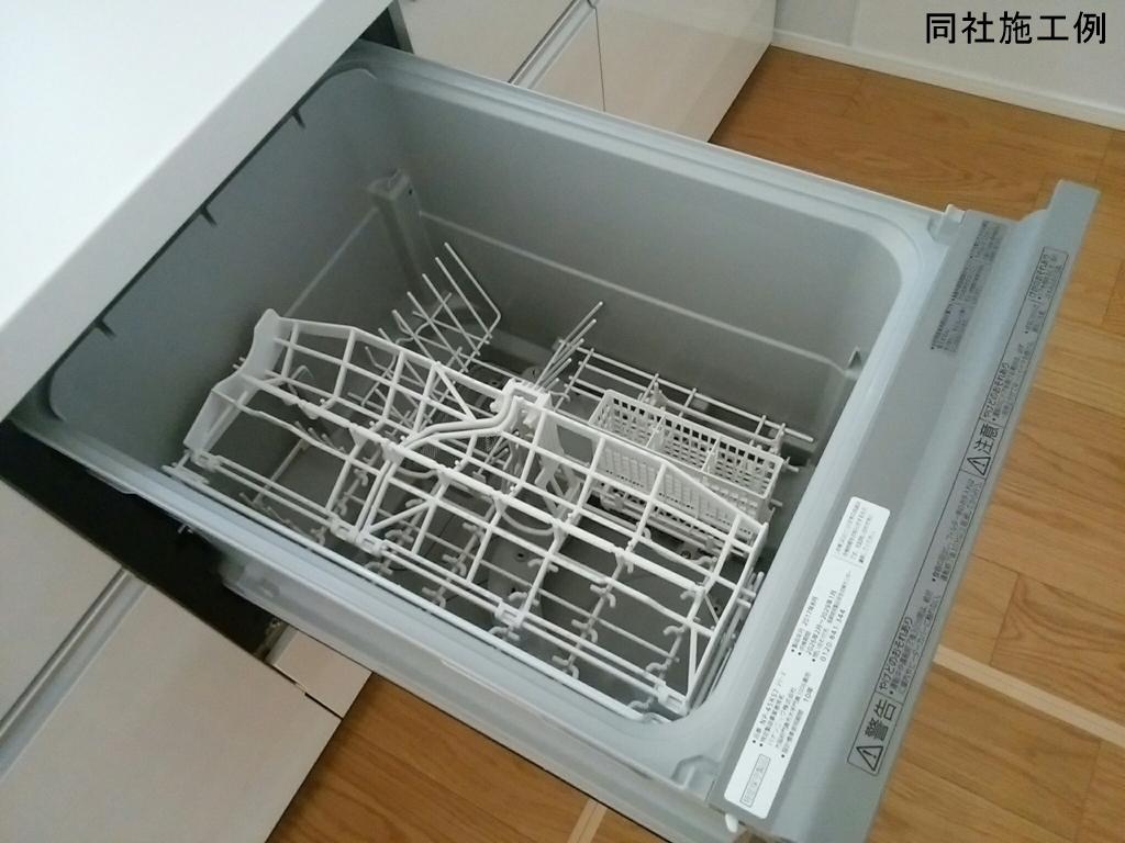洗い物はお任せして、家事の時間を削減できる食器洗浄乾燥機が標準装備されています