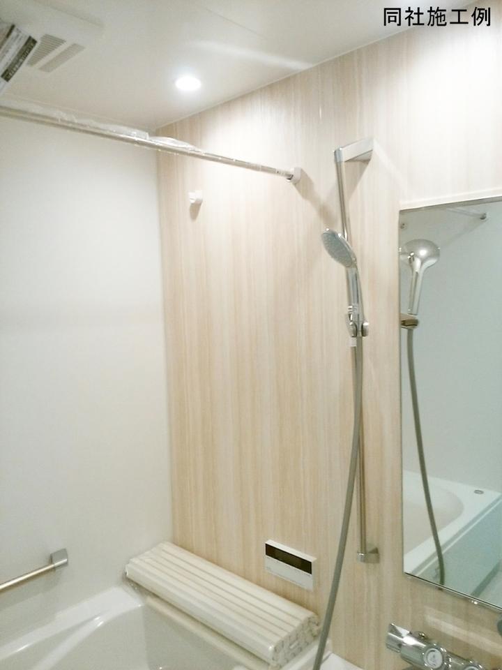 雨の多い季節に大活躍な浴室乾燥機!雨続きで外へ洗濯物が干せなくても浴室をランドリースペースとして使用できる優れもの!