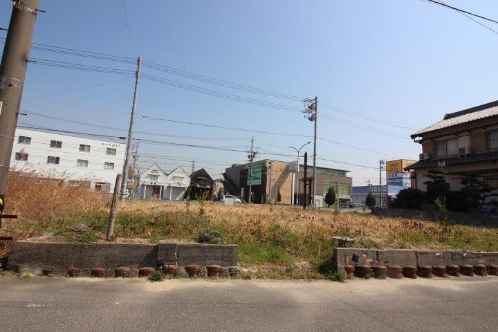 原松町3丁目 B号地 土地面積 56.47坪 建築条件なし