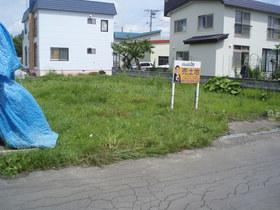 江別市上江別南町の、売土地です