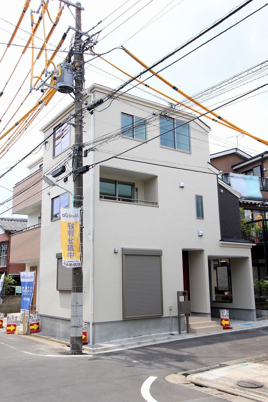 【外観写真】 葛飾区鎌倉2丁目の新築戸建物件です。