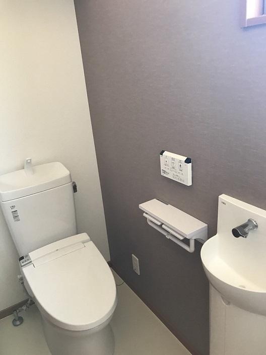 トイレ、2個所です♪
