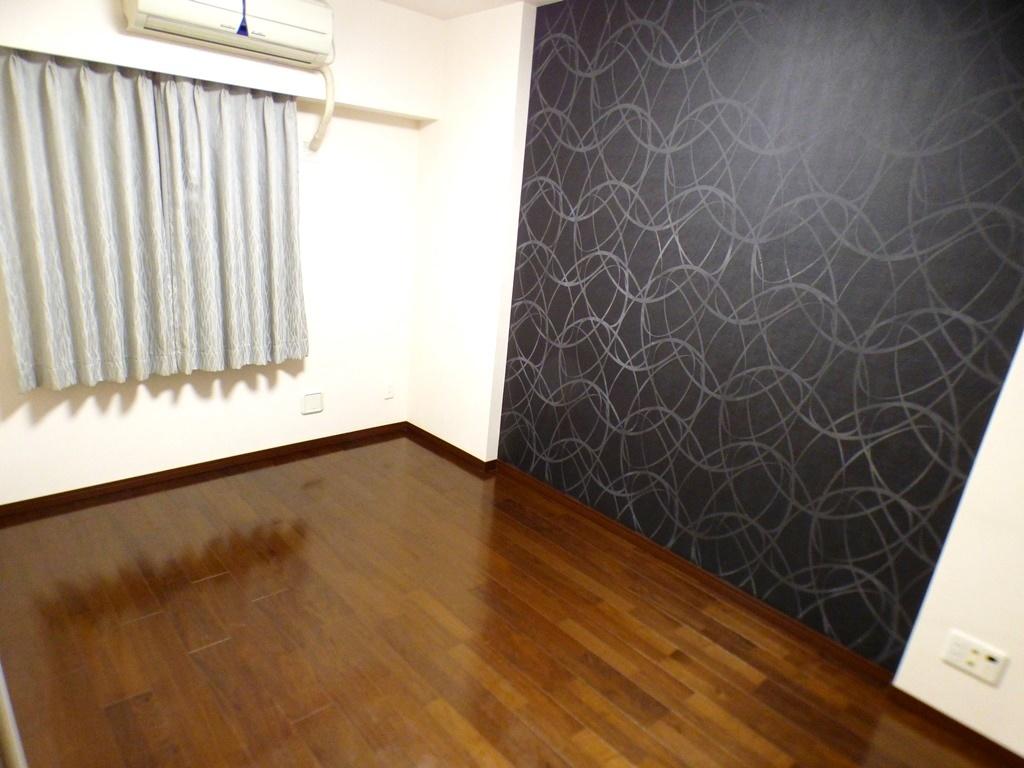 ◎6帖の洋室(3/26撮影) お部屋は全居室フローリング!お掃除やお手入れもラクラク!