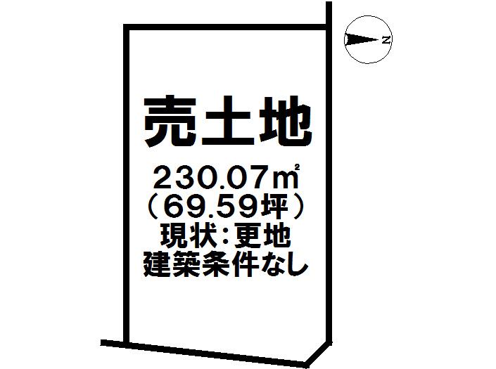【区画図】 1号地