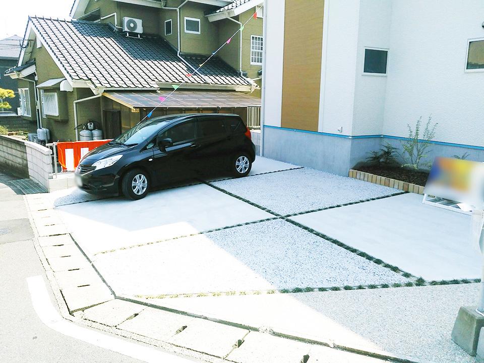 駐車場2台分以上のスペースを確保。現在お車を2台お持ちの方はもちろん、来客の際なども駐車場スペースを気にすることなく、快適なカーライフを過ごせます。◆北九州市小倉南区上葛原1丁目の新築戸建サンコート♪