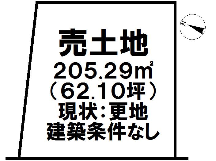 【区画図】 B号地