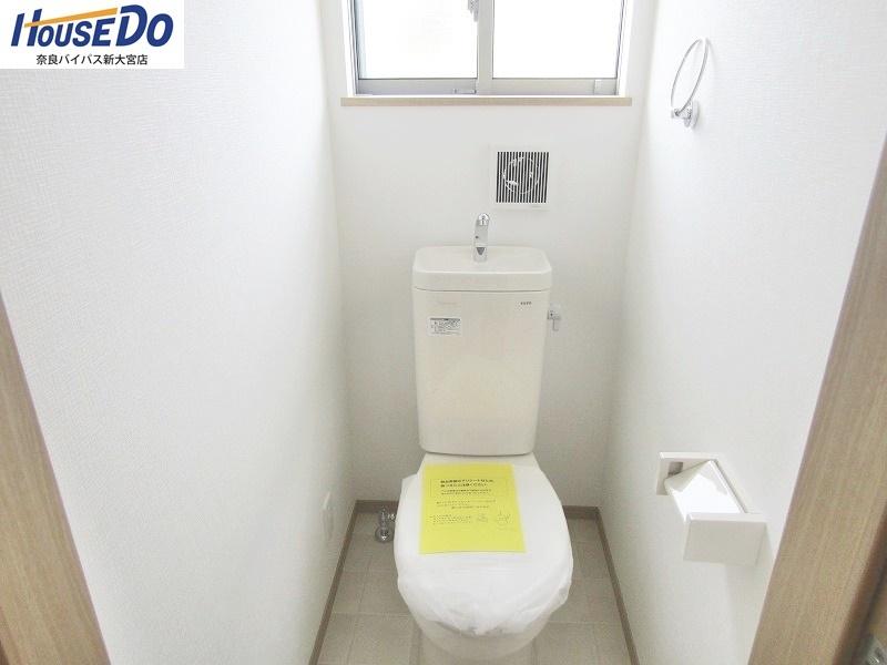 同社施工例 2階トイレ