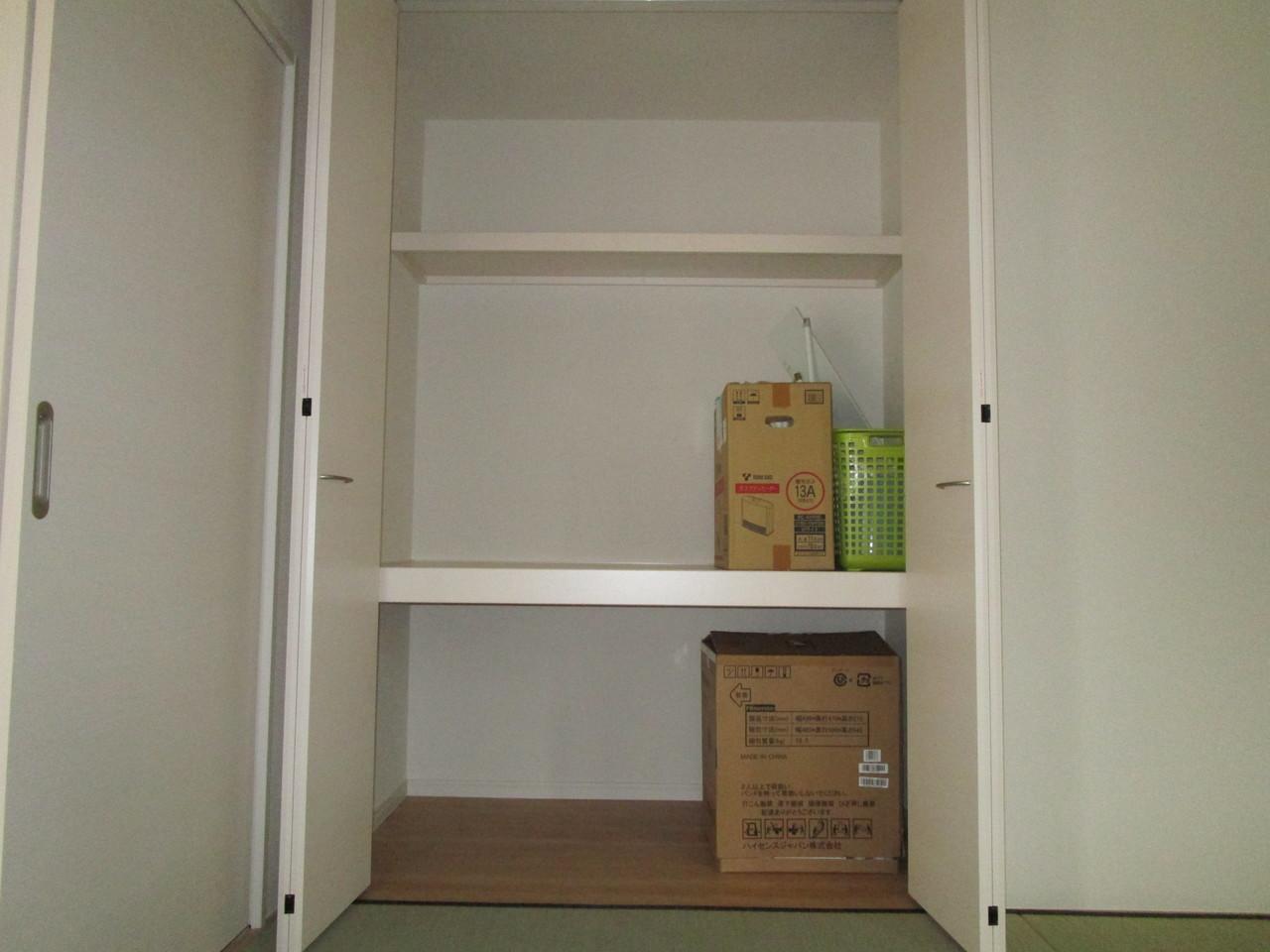 【同社施工例】和室にうれしい押入れでお部屋がすっきり片付きます