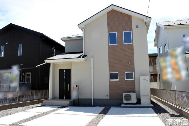 【外観写真】 全2区画・土地約52坪・4LDK・駐車2台可・オール電化の新築住宅