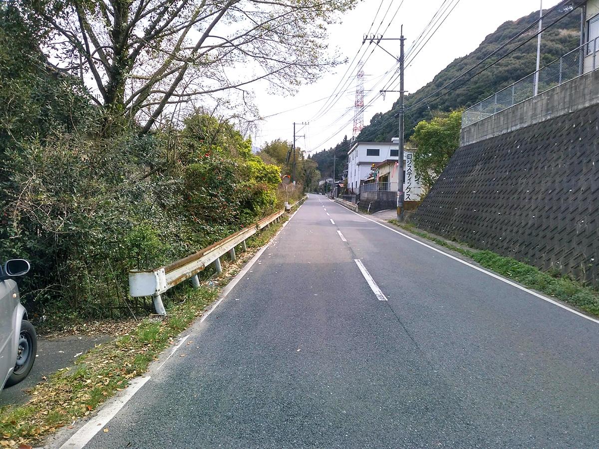 ◆小倉南区大字高津尾 売地 全面道路の幅員は約7.5mです♪