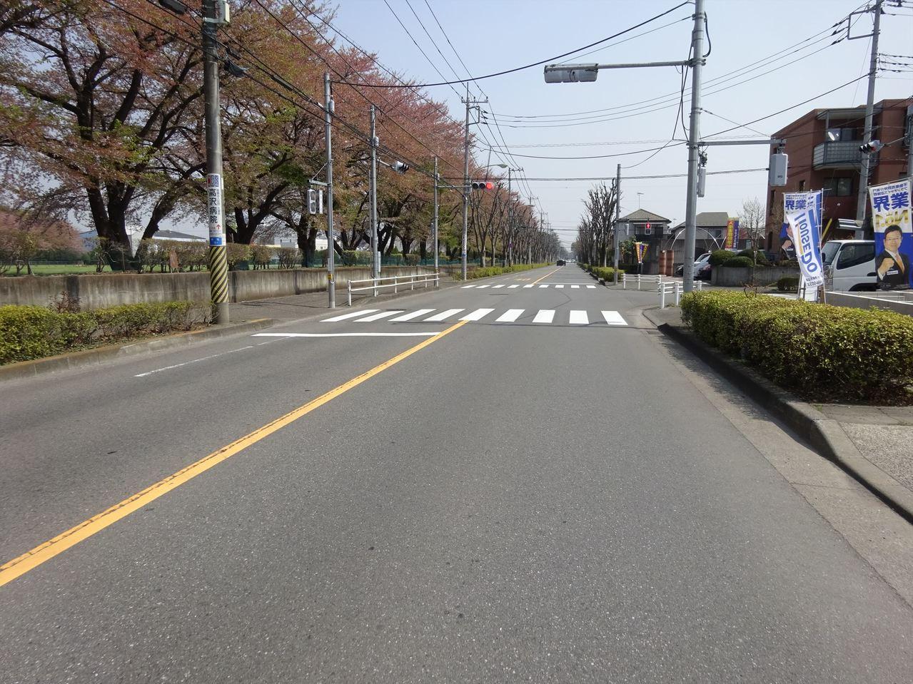 ☆前面道路☆運転が不安な方も安心な前面道路
