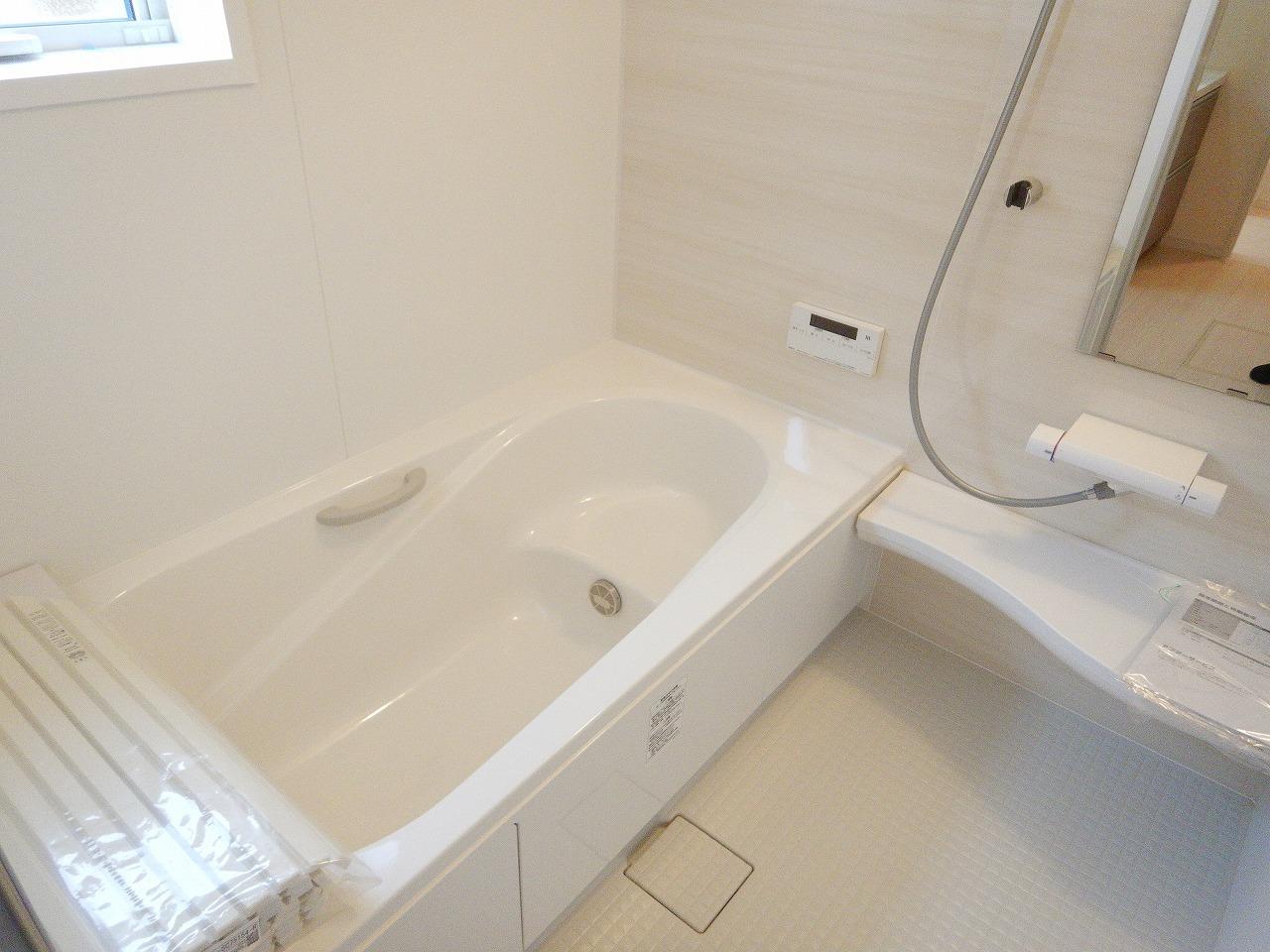 浴室乾燥機で雨の日でも楽々お洗濯(^^) 施工事例。実際のものと異なります。