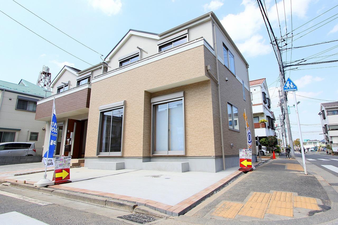 【外観写真】 江戸川区上一色1丁目 3号棟 全3棟 新築戸建 の物件です。