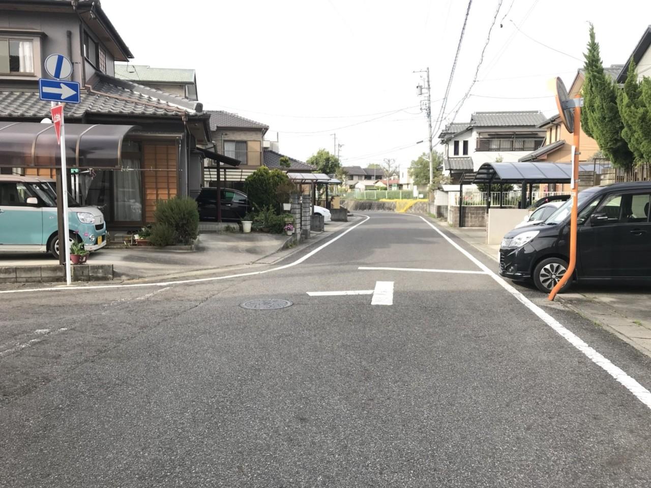 ■本件前面道路部分◎ ■閑静な住宅街です!!
