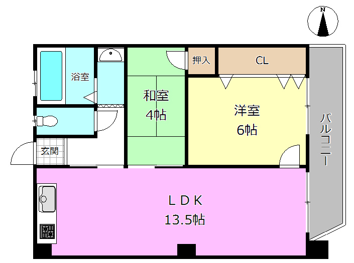 【間取り】 当社でリフォームも可能です♪ 中古×リフォームで理想の住まいを作りましょう♪  「お家探し」「ご売却」は 地域密着型不動産  淀川区に強い『ハウスドゥ!新大阪北店』におまかせ下さい!