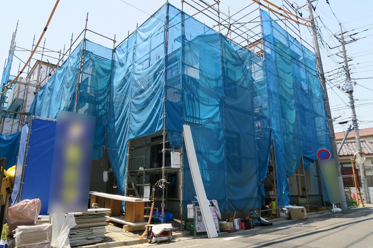 【外観写真】  江戸川区北小岩6丁目の新築戸建物件です。