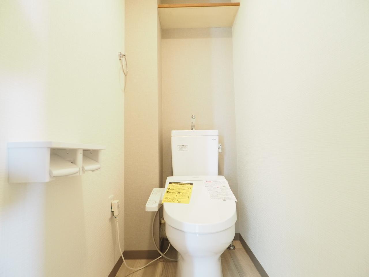 快適なウォシュレットトイレ(新規交換)