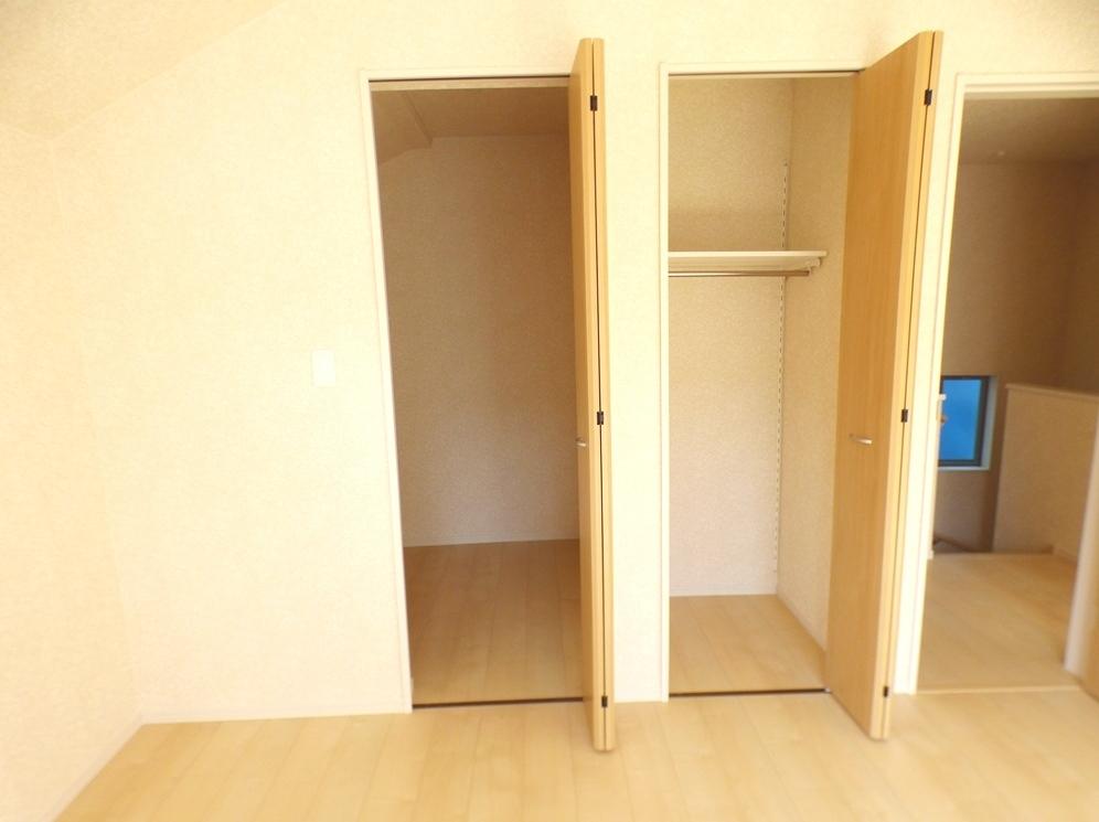 ◎収納:3号棟(5/12撮影) 収納が2ヶ所!お洋服や家具など、種類別で収納できるので、使い勝手も◎です!