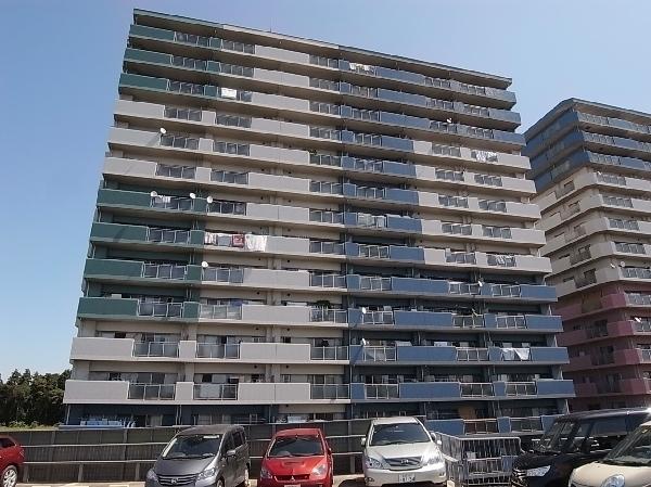 総戸数618戸の大規模マンション。
