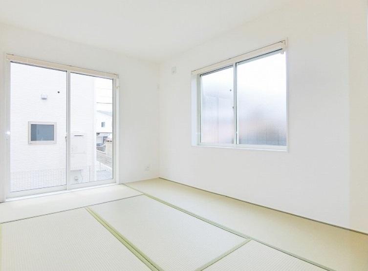 2階建てのほぼ全てのプランに和室と押入れがあります 日常の安らぎの空間や来客時のゲストルームにと重宝します