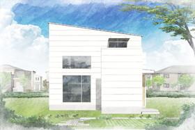 草津市野村4丁目の新築一戸建ての画像