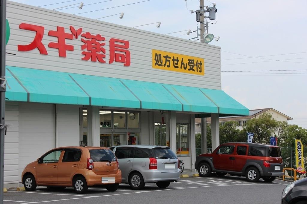 【 ドラッグストア】スギ薬局新知店