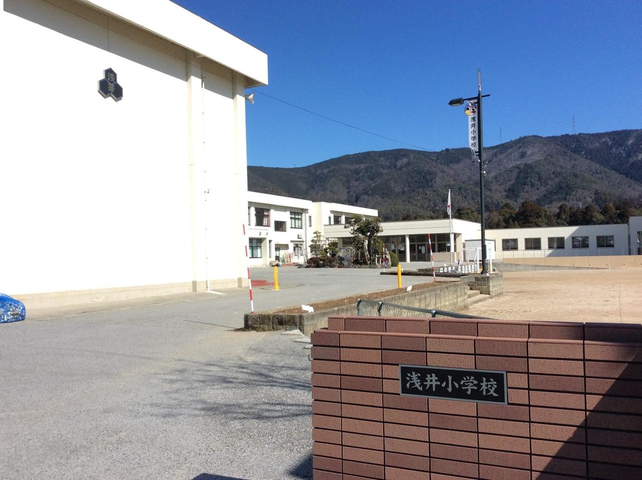 【小学校】長浜市立浅井小学校 校門